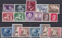 Nazi 3rd Reich 1942 COMPLETE YEAR SET MINT!!!
