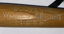 Vintage 1935 World Series Souvenir Mini Bat Detroit Tigers/Chicago Cubs
