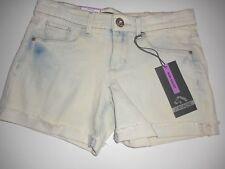 Jordache Midi Short White Wash Jean Short Summer Short Girls Youth Size 7 Nwt