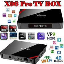 X96 Pro Android 6.0 Smart 4K TV BOX Latest 16.1 S905X Quad core Wifi Player Y3B8