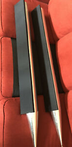 Bang & Olufsen BeoLab 8000 Speakers (Silver) B&O Read Description