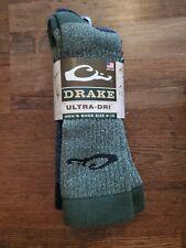 Drake Waterfowl Ultri-Dri Hunting Socks 2 Pair size 9-13 Banded mallard geese