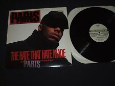"Paris The Hate That Hate Made Promo 12"" Single (1991) N.W.A. Ice Cube Hip Hop"