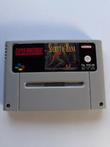 Secret of Mana  SNES Super Nintendo  PAL