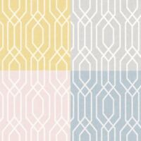 Arthouse New York Geo Geometric Abstract Hexagon Shapes 4 Colours  Wallpaper