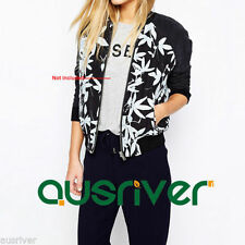 Polyester Floral Coats & Jackets for Women