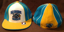 New Orleans Hornets Throwback Reebok NBA Fitted Hat Teal/Yellow/White Size 7 3/8