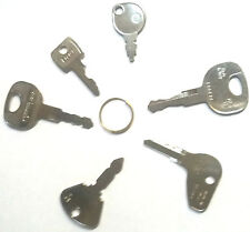 heavy plant keys popular set 6 lucas new holland jcb kubota case-cub cadat jd