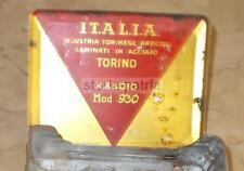 COSMESI MASCHILE_BARBA_RASATURA_RASOIO 930_ITALIA_PUBBLICITARIA D'EPOCA_TORINO