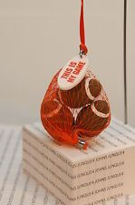 "BAG OF FOOTBALLS ORNAMENT~HALLMARK~NEW~""THIS IS MY GAME""~FREE SHIP IN US"
