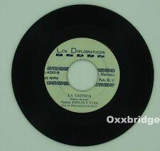 LOS DIPLOMATICOS DE HAITI La Critica Salsa Funk DOMINICAN Merengue LATIN Vinyl