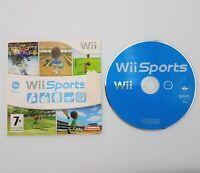 Wii Sports - Nintendo Wii / Wii U - Bowling, Tennis, Golf, Boxing - Fast P&P!