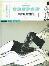 Erotica 15 di Guido Crepax:Odissea piccante CARTONATO volume unico ed.Mondadori