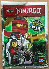 SACHET POLYBAG LEGO MINIFIGURE FIGURINE NINJA NINJAGO NEUF NYA LA FILLE GUERRIER