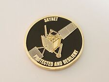 Skynet 5A Satellite Airbus Defense Protected and Resilient Challenge Coin NEW