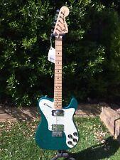 Fender Classic Series FSR Aqua Flake 72 Telecaster Deluxe
