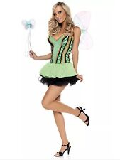 NEW SEXY Sprite FAIRY S/M Women's Be Wicked Tinkerbell Pixie Costume NWT