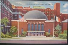 Hayden Planetarium 81st St Central Park West NYC NY Linen Unposted