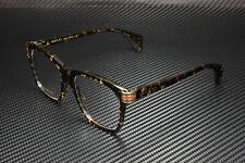 GUCCI GG0526O 003 Rectangular Squared Havana Dark 54 mm Men's Eyeglasses