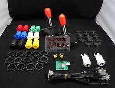 Kit Arcade Joysticks de Maneta y 16 botones + Interface USB 2 Jugadores