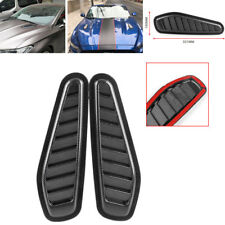 Carbon Fiber Style Car Trucks Air Flow Intake Scoop Turbo Bonnet Vent Cover Hood