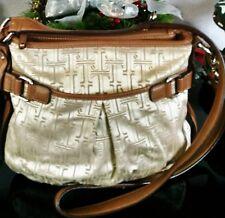 """Women's Super Cool Large Gold Color """"TIGNANELLO"""" Designer Cross Body Bag Purse"""