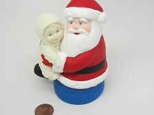 DEPT DEPARTMENT 56 SNOWBABIES I LOVE YOU SANTA CLAUS Is Coming to Town FIGURE