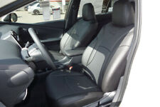 2016-2020 Toyota Prius II III Clazzio PVC Leatherette Black Seat Covers