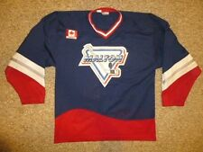 Vtg Contak MALTON HOCKEY Jersey Shirt Men's SMALL Ontario Canada Minor League