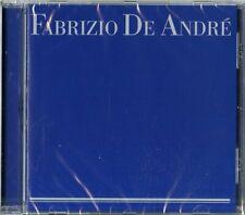 Fabrizio De Andre Raccolta Blu CD Audio 24 bit NUOVO Sigillato Best Il Meglio