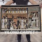 YILONG 2'x3' Handknotted Silk Tapestry Pictorial Home Decor Carpet L107A