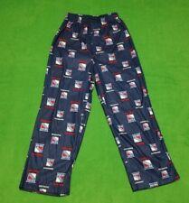 New York Rangers Lounge Pants Size BOYS 8-10 Dark Blue No Fly Free Shipping