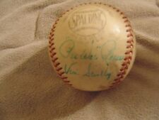 VIN SCULLY, Pee Wee Reese Autograph Baseball, HOLY GRAIL!!! JSA, Super Rare!!