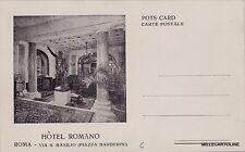 # ROMA: HOTEL ROMANO - via S. Basilio