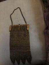 Antique Art Decor Mesh Bag Made In france