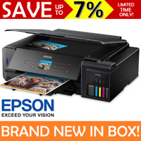 NEW Epson Expression ET-7750 EcoTank A3 A4 5 Colours MultiFunction Printer Scan