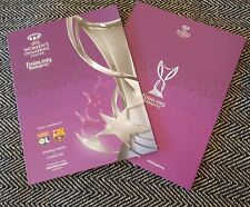 More details for uefa women's champions league final lyon v barcelona official programme 2019!