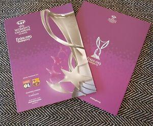 UEFA Women's Champions League Final Lyon v Barcelona Official Programme 2019!