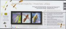 Canada 2010 Souvenir Sheet #2409b Beneficial Insects - MNH