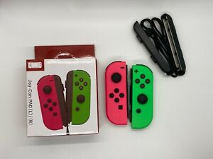 For Nintendo Switch Joy-Con (L/R) With Straps Wireless Controller Gamepad NS