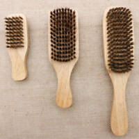 3 Sizes Beard Brush Bristle Boar Wooden Hard Hair Mustache Soft Men Grooming HQY