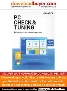 MAGIX PC Check & Tuning 2021 - [Download]