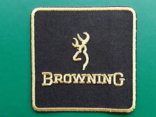 BROWNING SHOOTING GAME CARP FISHING SPORT CLASSIC EMBROIDERED PATCH UK SELLER