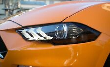 2018+ Mustang [HACT] Headlight Amber Corner Lens Vinyl Tint - 20% Tint