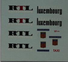 Pièces pour Dinky: décalcomanie ID 19 RTL 404 Taxi G7 réf 1404 et réf 1400
