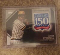 """Willie Stargell 2019 Topps Patch """"150 Years"""" AMP-WS Pittsburgh Pirates"""