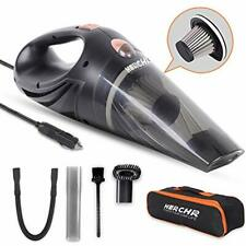 Car Vacuums Vacuum Cleaner High Power, DC 12V Hand-held Lightweight Portable For