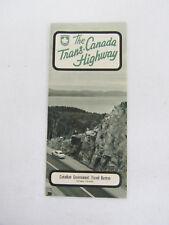 Vintage 1960's The Trans-Canada Highway Brochure