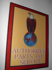 Case Eagle Farm Tractor Barn Parts Framed Advertsing Print Man Cave Sign