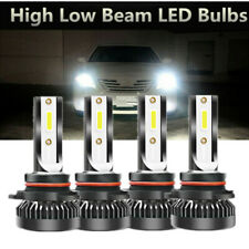 90059006 Combo Led Headlight 3200w 520000lm Highlow Beam 6000k White 4 Bulbs